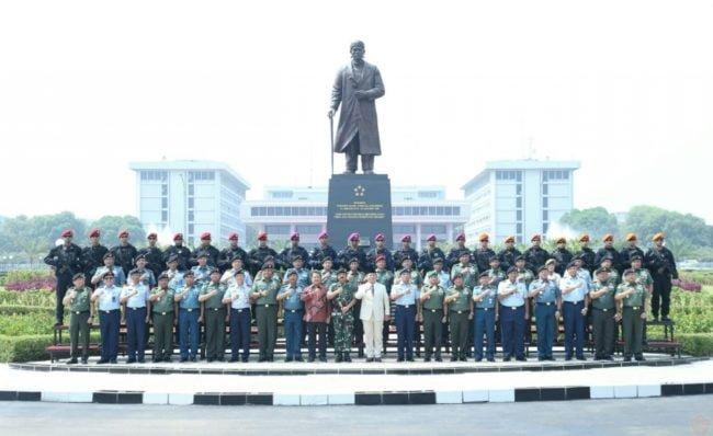 TNI dan Kemhan Bertekad Wujudkan Postur Pertahanan Negara Yang Handal 113
