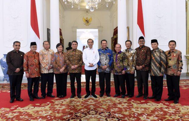 Terima Pimpinan MPR, Presiden Ingin Pelantikan Khidmat dan Sederhana 111