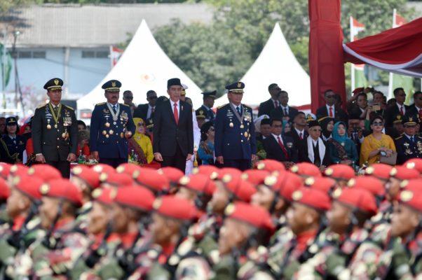 Tiga Pesan Presiden Jokowi kepada TNI di HUT TNI Ke-74 114