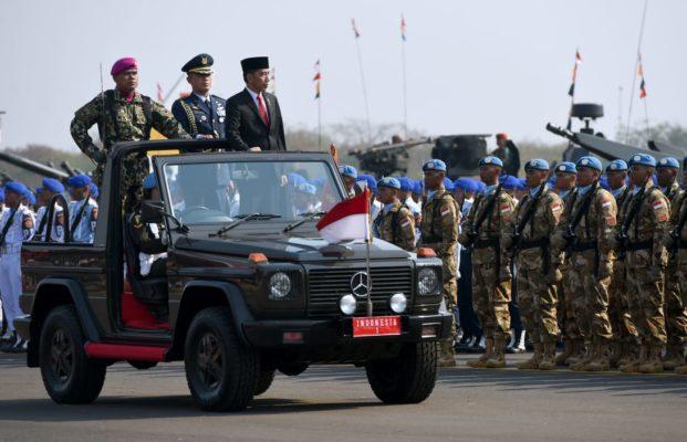 Tiga Pesan Presiden Jokowi kepada TNI di HUT TNI Ke-74 115
