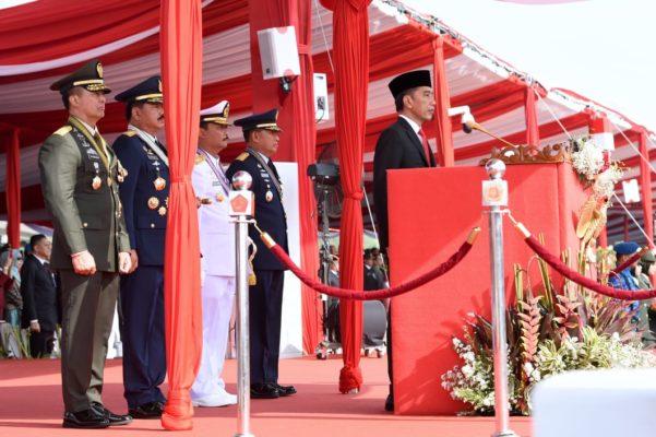 Tiga Pesan Presiden Jokowi kepada TNI di HUT TNI Ke-74 113