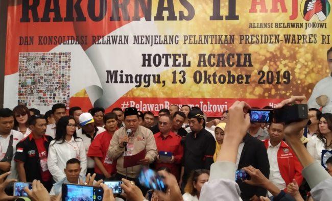 Rakornas II ARJ dan Konsolidasi Relawan Menjelang Pelantikan Presiden dan Wakil Presiden RI 112