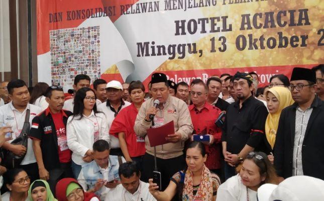 Rakornas II ARJ dan Konsolidasi Relawan Menjelang Pelantikan Presiden dan Wakil Presiden RI 111