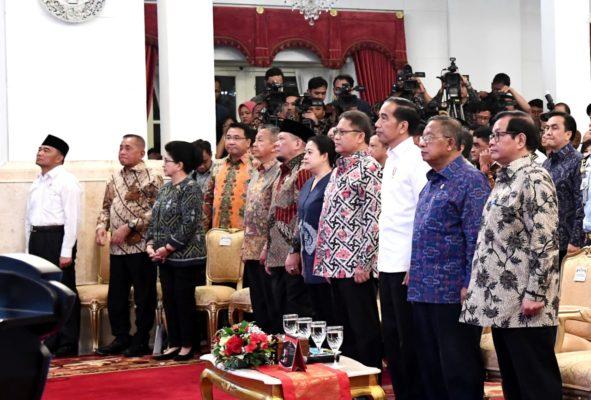 Presiden Jokowi Resmikan Pengoperasian Palapa Ring 114