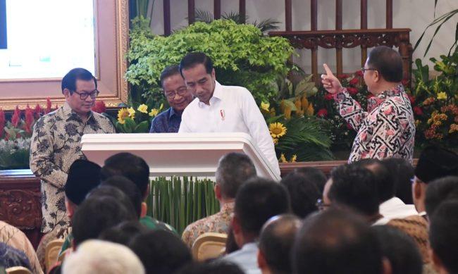 Presiden Jokowi Resmikan Pengoperasian Palapa Ring 113