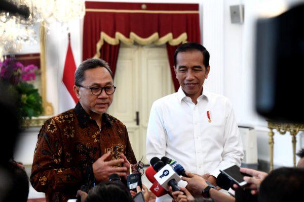 Presiden Jokowi dan Zulkifli Hasan Bertemu Bahas Tantangan dan Visi Bangsa 113