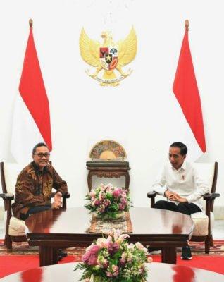 Presiden Jokowi dan Zulkifli Hasan Bertemu Bahas Tantangan dan Visi Bangsa 114
