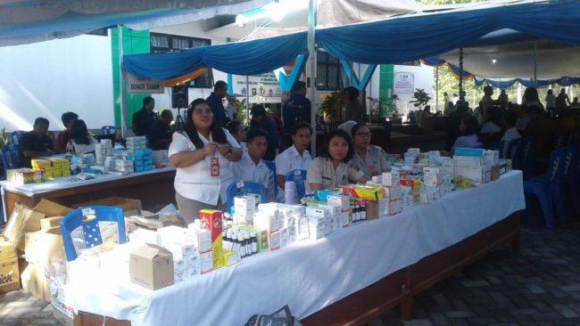 Polda Sulut Gelar Bakti Kesehatan Polri di Unima Tondano 114