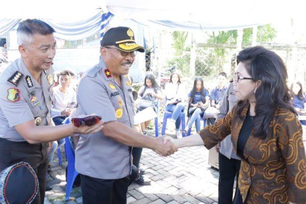Rektor Unima Sebut Pelaksanaan Bakti Kesehatan Sebagai Wujud Kepedulian Polda Sulut 113