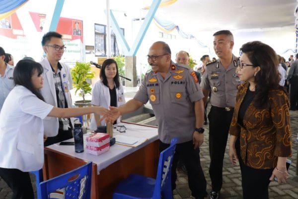 Buka Bakti Kesehatan Polri di Unima Tondano, Wakapolda: Polisi Juga Bagian dari Kampus 102