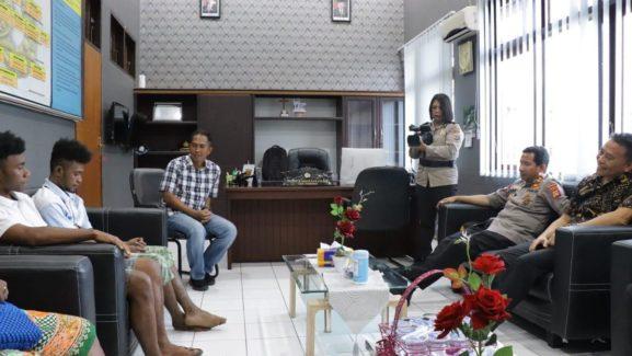 Pengakuan Novel di Hadapan Kapolda Terkait Terbakarnya Asrama Papua di Tomohon