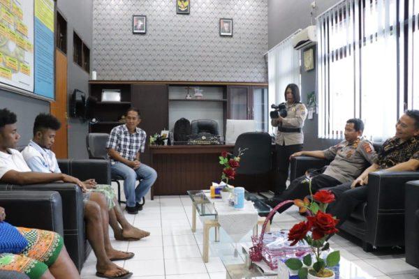 Pengakuan Novel di Hadapan Kapolda Terkait Terbakarnya Asrama Papua di Tomohon 1