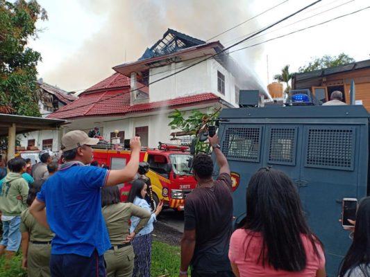 Pengakuan Novel di Hadapan Kapolda Terkait Terbakarnya Asrama Papua di Tomohon 2