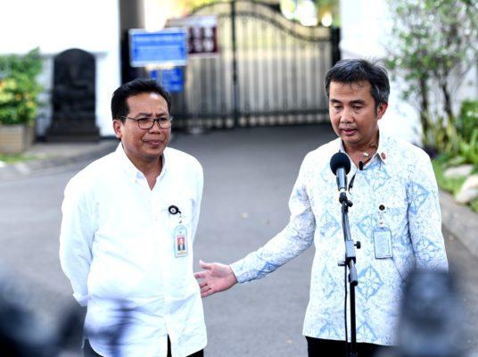 Presiden Jokowi Tunjuk Jubir dan Tujuh Orang untuk Bantu Proses Pembentukan Kabinet 113