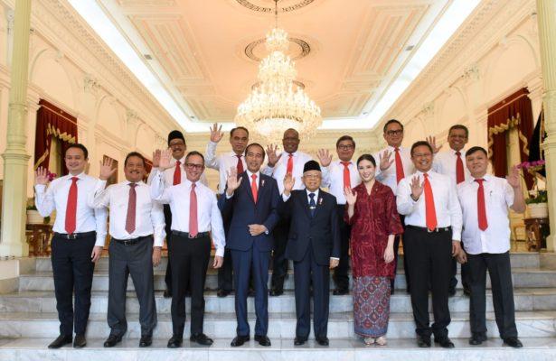 Presiden Jokowi Kenalkan Para Wakil Menteri 111