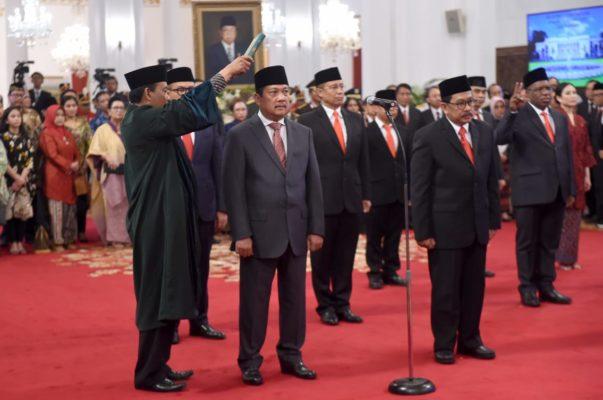 Presiden Jokowi Lantik 12 Wakil Menteri di Istana Negara 114