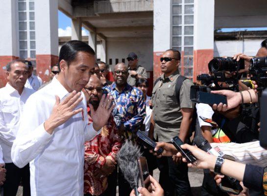 Presiden Jokowi Targetkan Rehabilitasi Infrastruktur Pascakerusuhan Wamena Dipercepat 113
