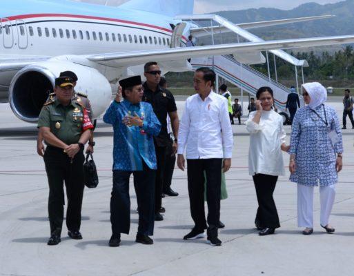 Tiba di Palu, Presiden Jokowi Langsung Tinjau Pembangunan Hunian Tetap untuk Korban Gempa 114