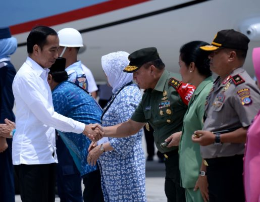 Tiba di Palu, Presiden Jokowi Langsung Tinjau Pembangunan Hunian Tetap untuk Korban Gempa 113