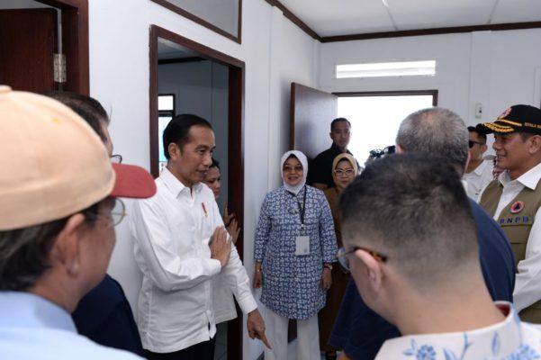 Presiden Jokowi Apresiasi Peran Swasta Bantu Bangun Rumah bagi Korban Gempa 111