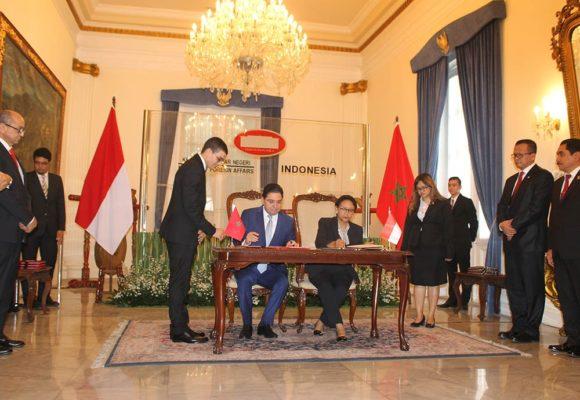 Ingin Tingkatan Kerjasama Berbagai Bidang, Menteri Luar Negeri Maroko Kunjungi Indonesia 111