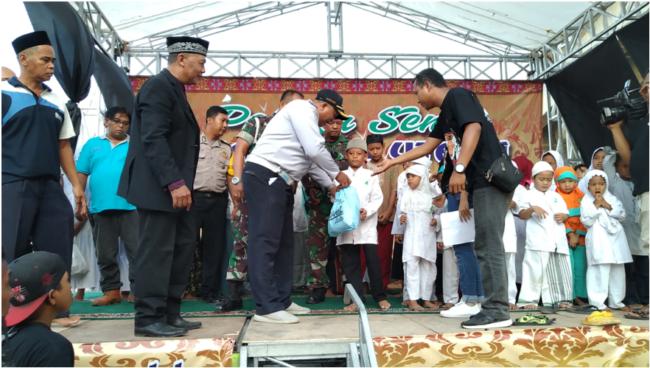 Anak Yatim Tanah Merdeka Cilincing dibuat hanyut dalam kebahagiaan 113
