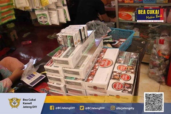 Bea Cukai dan TNI Kembali Sita Rokok Ilegal Rp 2.66 Milyar 113