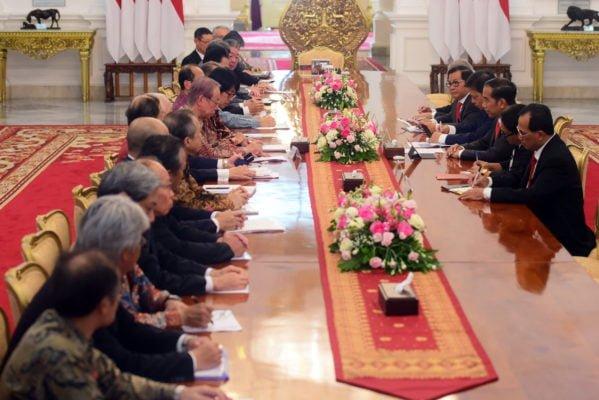 Bertemu Delegasi JAPINDA, Presiden Jokowi Minta Realisasi Proyek Masela Bisa Dipercepat 113