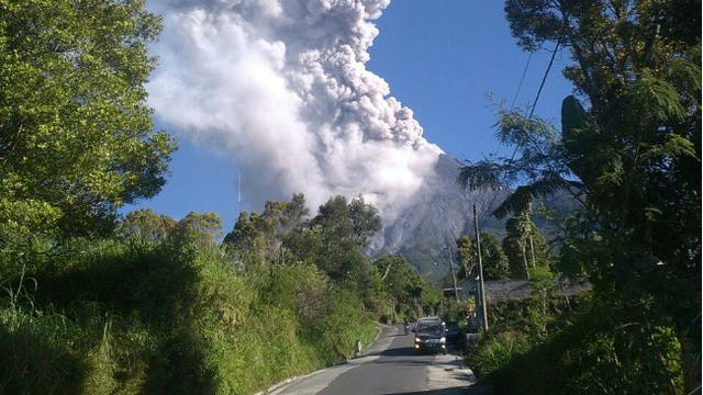 Gunung Merapi Meletus, Masyarakat Diimbau Tidak Melakukan Aktivitas Dalam Radius 3 Km 113