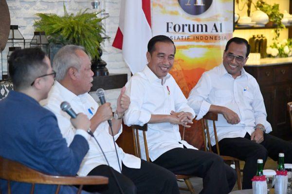 Presiden Joko Widodo : Tahapan Besar Menuju Indonesia Emas 2045 114
