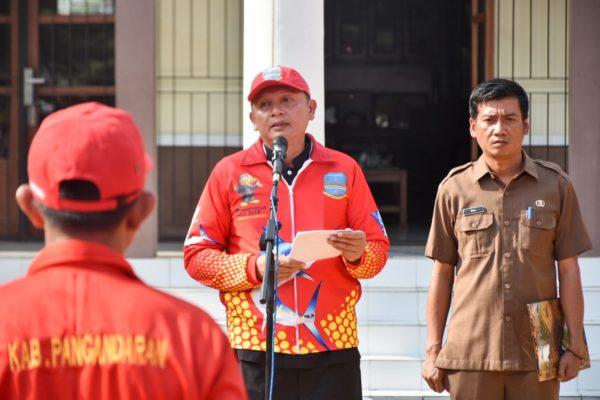 Sekda Lepas Kontigen Porsenitas Kabupaten Pangandaran 112