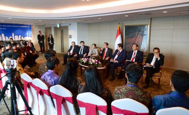 Presiden Jokowi : Pemerintah Mulai Menata Soal Riset dan Inovasi 114