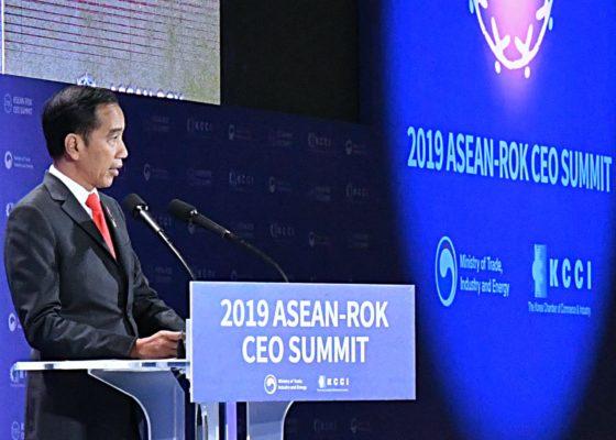 Presiden Jokowi Dorong Perlunya Terobosan soal Energi Terbarukan di ASEAN-ROK 113