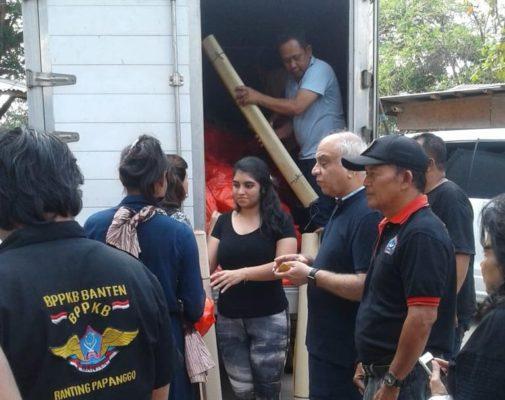 BPPKB Banten Beri Bantuan Sembako Pada Warga Kampung Kebon Bayam 113