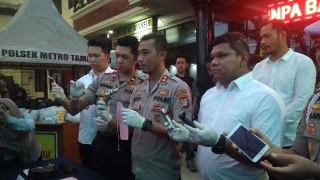 Unit Reskrim Polsek Metro Taman Sari Gibas Pelaku Sindikat Curamor 102