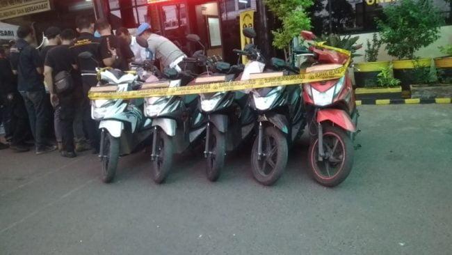 Unit Reskrim Polsek Metro Taman Sari Gibas Pelaku Sindikat Curamor 101