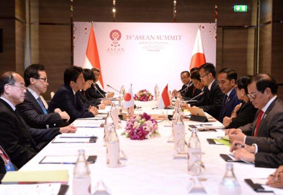 Jepang Dukung Prioritas Program Pembangunan Presiden Jokowi 112