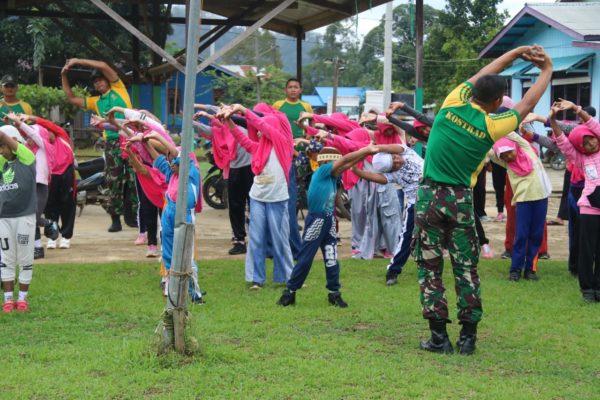 Lomba Peringatan Maulid Nabi Muhammad SAW, Wahana Satgas Yonif Raider 303 Bentuk Karakter Generasi Muda 2