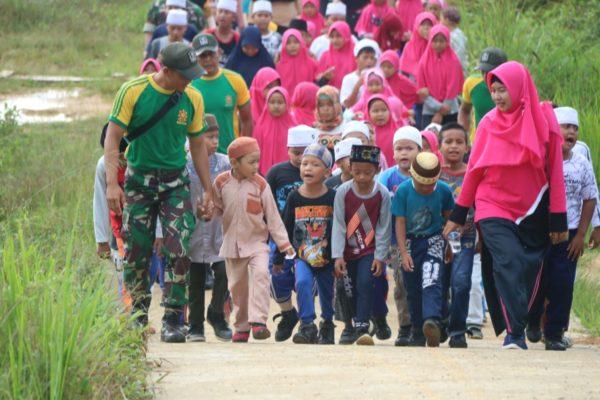 Lomba Peringatan Maulid Nabi Muhammad SAW, Wahana Satgas Yonif Raider 303 Bentuk Karakter Generasi Muda 1