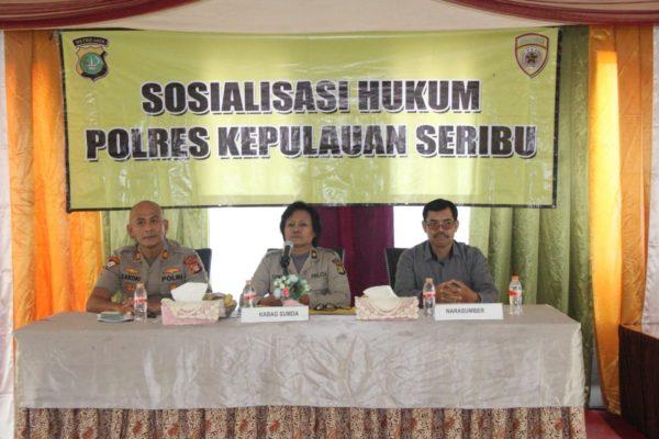 Sosialisasi Hukum, Cara Polri Perkaya Ilmu Anggota 113