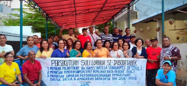 Masyarakat Desa Suli, Kecamatan Salahutu Kabupaten Maluku Tengah Kecewa Terhadap Pimpinan Daerah Dan Dianggap Menyalahi Aturan 101