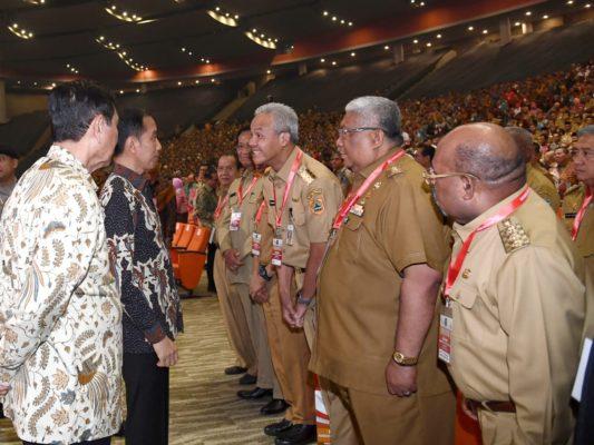 Presiden Jokowi Buka Rakornas Indonesia Maju 114