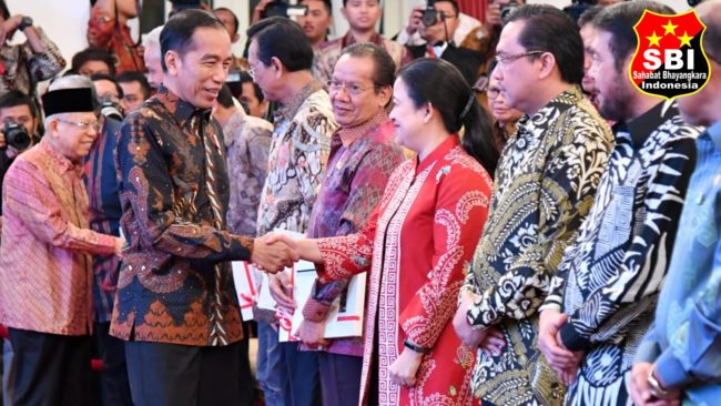 Presiden Jokowi Serahkan DIPA dan TKDD Tahun 2020 114