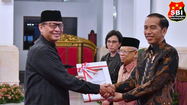 Presiden Jokowi Serahkan DIPA dan TKDD Tahun 2020 113