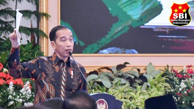 Presiden Jokowi : Belanja Anggaran Harus Disertai dengan Peningkatan Realisasi Anggaran yang Berkualitas 113