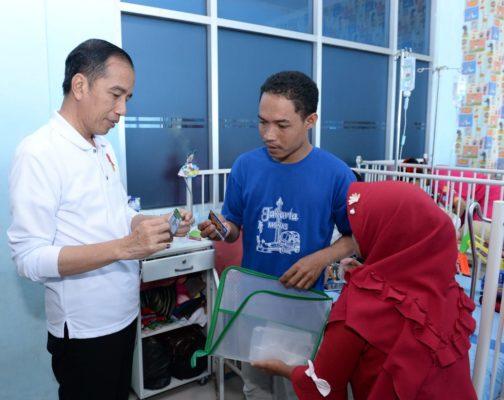 Presiden Jokowi Sidak Layanan BPJS Kesehatan di RSUD Abdul Moeloek 113