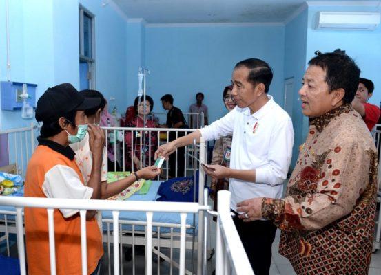 Presiden Jokowi Sidak Layanan BPJS Kesehatan di RSUD Abdul Moeloek 114
