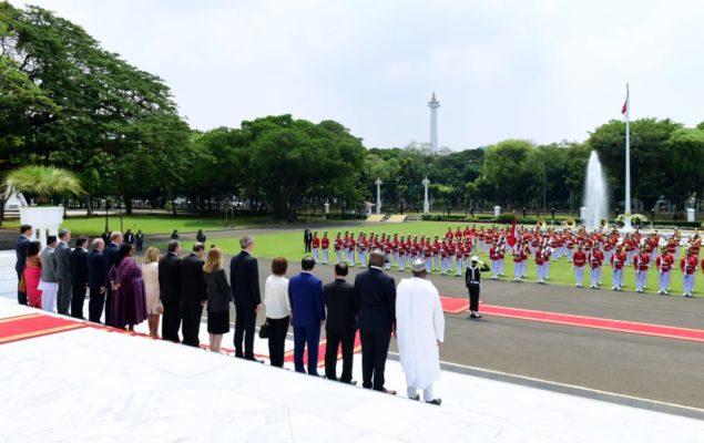 Presiden Jokowi Terima Surat Kepercayaan 14 Duta Besar Negara Sahabat 114