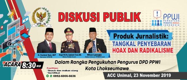 PPWI Lhokseumawe Siap Menggelar Diskusi Publik Bersama Senator dan Polda Aceh 113