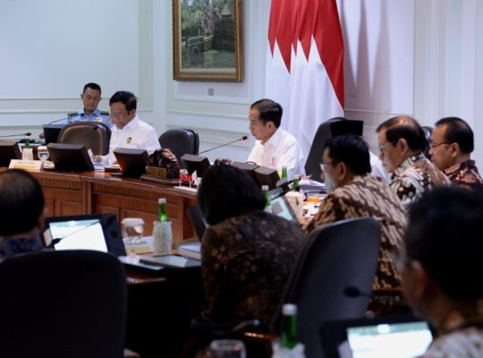 Presiden Jokowi Tekankan Aspek Promotif dan Preventif pada Penanganan Kesehatan 114